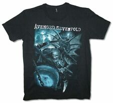 Avenged Sevenfold Oracle Mens Black Slim Fit  T Shirt New Official Adult