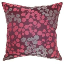 The Pillow Collection Fleur Floral Throw Pillow Cover