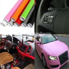 Personality 3D Carbon Fiber Vinyl Film Auto Car Sheet Wrap Roll Sticker Decor