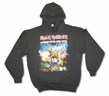 Iron Maiden England 2013 Mens Black Pullover Hoodie Sweatshirt New Official
