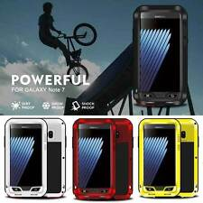 LOVE MEI Powerful Metal Aluminum Waterproof Case Cover For Samsung Galaxy Note 7