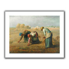 ArtWall The Gleaners' by Jean Francois Millet Painting Print on Rolled Canvas