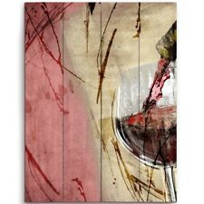 Click Wall Art Artistic Pouring Red Wine Right Painting Print Plaque
