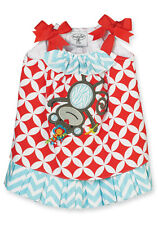 Mud Pie Baby MONKEY DRESS 352115 Safari Collection