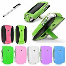 PU Leather Stand Case/Silicone Case + Stylus for Leapfrog Leappad 2 Explorer