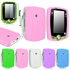 Silicone Rubber Soft Skin Case+Film+Pen for Leapfrog Leappad 2 Explorer Tablet
