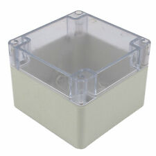 120mm x 120mm x 90mm Clear Cover Waterproof Enclosure Case DIY Junction Box