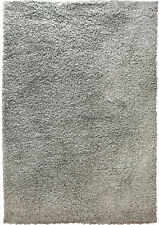 Rugs Silver Dark Gray Contemporary Area Shag Rug Solid Modern Shaggy Carpet