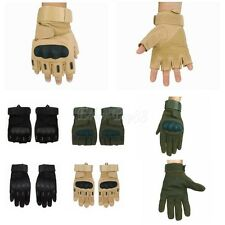 Tactical Finger Gloves Military Airsoft Shooting Outdoors Motorcycle Armed M-XL