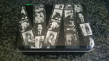 terry  o neil  celbrity     blank  cards    in  original  tin