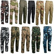 New Ranger Trousers Pants In US Army Style Camouflage Cargo