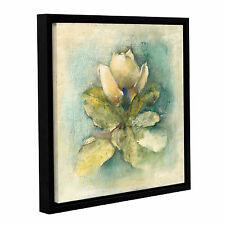 ArtWall 'French Magnolia' by Cheri Blum Framed Painting Print on Wrapped Canvas