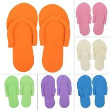 12/24/36 Pairs Foam Pedicure Thong Slippers Disposable Flip Flops Nail Salons BD