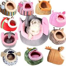 Pet Cat Bed Puppy Cushion House Pet Soft Warm Kennel Dog Mat Bed Cute Animal S-L