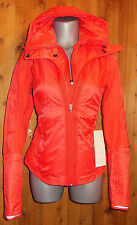NEW LULULEMON RUN BUNDLE UP JACKET love red ATHLETIC SPORTS 8 10 ski run  COAT