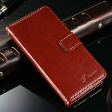For Apple iPhone 6 6s Plus Glossy Magnetic Leather Case Flip Stand Wallet Cover