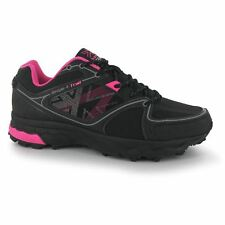 Karrimor Womens Tempo 4 Ladies Trail Running Off Road Lace Up Lightweight Shoes