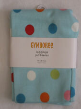 Gymboree Cozy Cutie Leggings 6-12 mos New Blue Polka Dot Pants Girls Nwt
