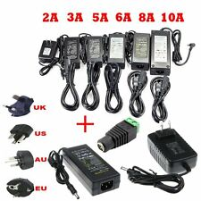 2A/3A/5A/6A/8A/10A DC 12V High Power Supply Charger for LED Lamp Strip Light