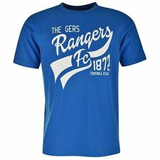 Rangers Mens Graphic Tee Short Sleeves Crew Neck Cotton T Shirt Top