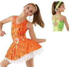 NEW 'Sunshine' Tap Jazz Dance Baton Skating Pageant Wear OOC Competition Costume
