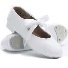 NEW Capezio White Jr. Tyette Tap Dance Shoes Child Youth & Adult Sizes