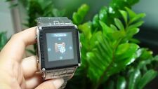 "Waterproof W818 Unlocked 1.5"" Touch Quad Band Bluetooth MP3 Watch Cell Phone NEW"