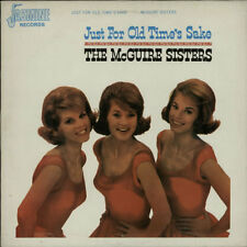 McGuire Sisters vinyl LP album record Just For Old Time's Sake UK JAS1511