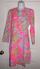 NWT LILLY PULITZER PINK POUT SHELLABRATE SARASOTA TUNIC DRESS M L XL