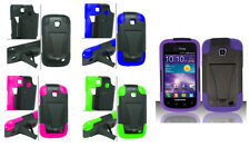 Armor Hybrid Cover Case for Samsung ILLUSION I110 GALAXY PROCLAIM S720C Phone