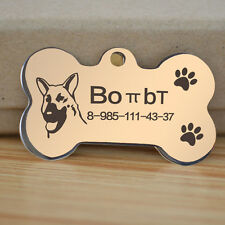 engraved dog tag dog military tag dog face beautiful personalized pet ID tags