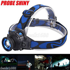 5000LM CREE Q5 LED Waterproof Bright Headlamp 3 Modes Zoomable Torch Headlight
