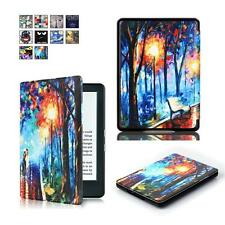 CY-Painting Slim PU Leather Case Magnetic For Amazon 2016 New Kindle 6inch ebook