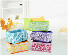 1 Pcs Non-woven Fabric Folding Storage Bag Box Make Up Cosmetic Jewelry Cases