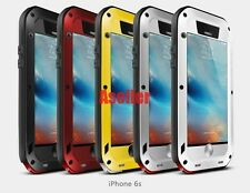 "For iPhone 6G 6S 4.7"" Shockproof Waterproof Gorilla Glass Metal Rugged Case Skin"