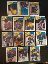 1983-84 OPC ST.LOUIS BLUES Select from LIST NHL HOCKEY CARDS O-PEE-CHEE