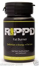 Rippd Fat Burner 60Caps Fat Loss Diet Slimming Pills EXPIRED MAY 2016