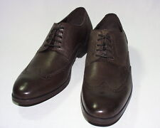 Cole Haan Copley Wingtip Derby Oxford, Leather Upper, Brogue, Chestnut, New