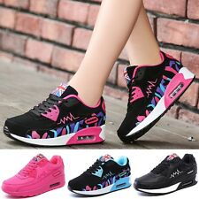 Women Fashion Athletics Breathable Casual Running Lace-up Sport Shoes US SZ 5-9