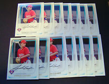 2011 Bowman Chrome Prospects #BCP87 Jarred Cosart RC Lot of 14 with Chrome