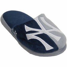Officially Licensed MLB New York Yankees Split Color Home Slide Slipper - NEW