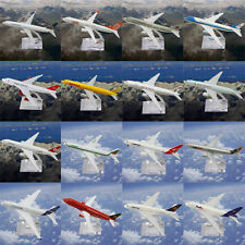 Metal Model Plane Aircraft Airlines Boeing Diecast Aeroplane Scale Desk Toy 16CM