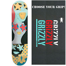 "GIRL Skateboard Deck MALTO STARSTRUCK 8.125"" with GRIZZLY GRIPTAPE"