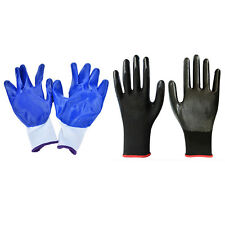 1 Pair Worker Latex Rubber Work Labor Anti Prick Gloves Safely Gloves NEW GGH