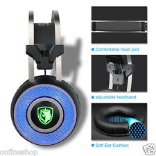 SADES A9 Stereo Surround Vibration On-Ear Gaming Headset Headband MicHeadphone