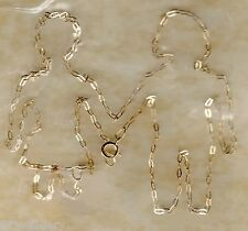 REAL 9ct 375 YELLOW GOLD trace necklace chains NEW 14 16 18 20 22 24""