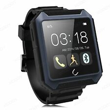Smart Wrist Watch Bluetooth Phone Mate Fitness Tracker For ios Android Dustproof