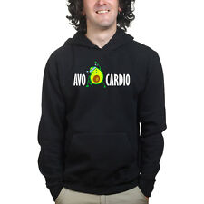 Avocardio Avocado Fitness Training Sports Funny Sweatshirt Hoodie Shirt