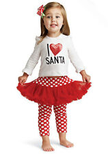 Mud Pie Baby I LOVE SANTA PLAYSET 131034 Christmas Holiday Collection New