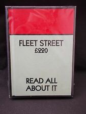 Fleet Street Monopoly A6 Lined Notebook - Read All About It by Gift Republic